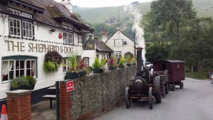 Pub steam engine